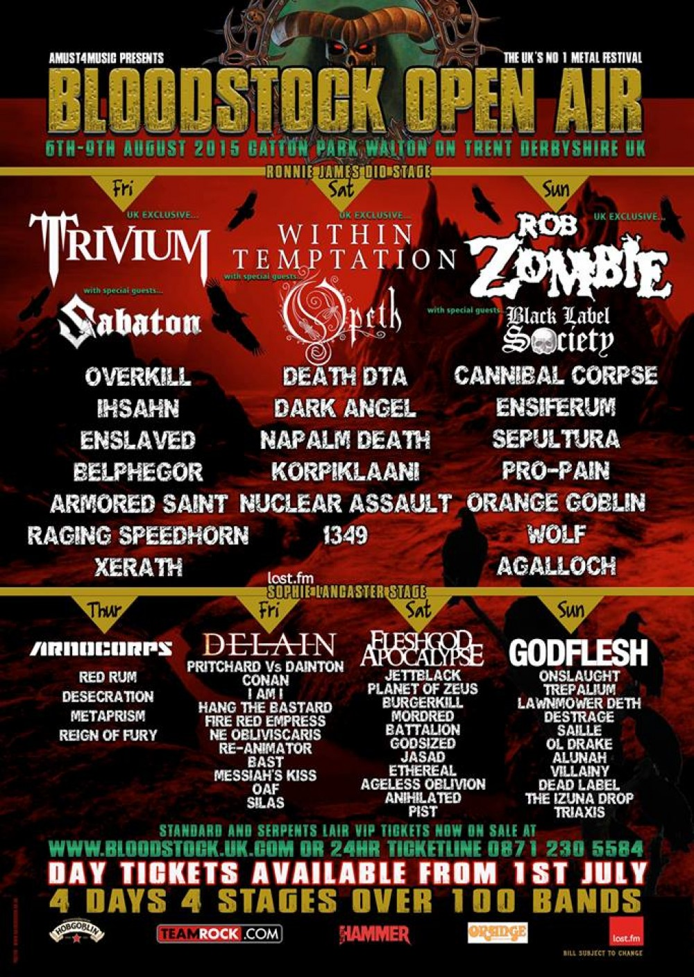 BLOODSTOCK 2016 'Metal To The Masses'