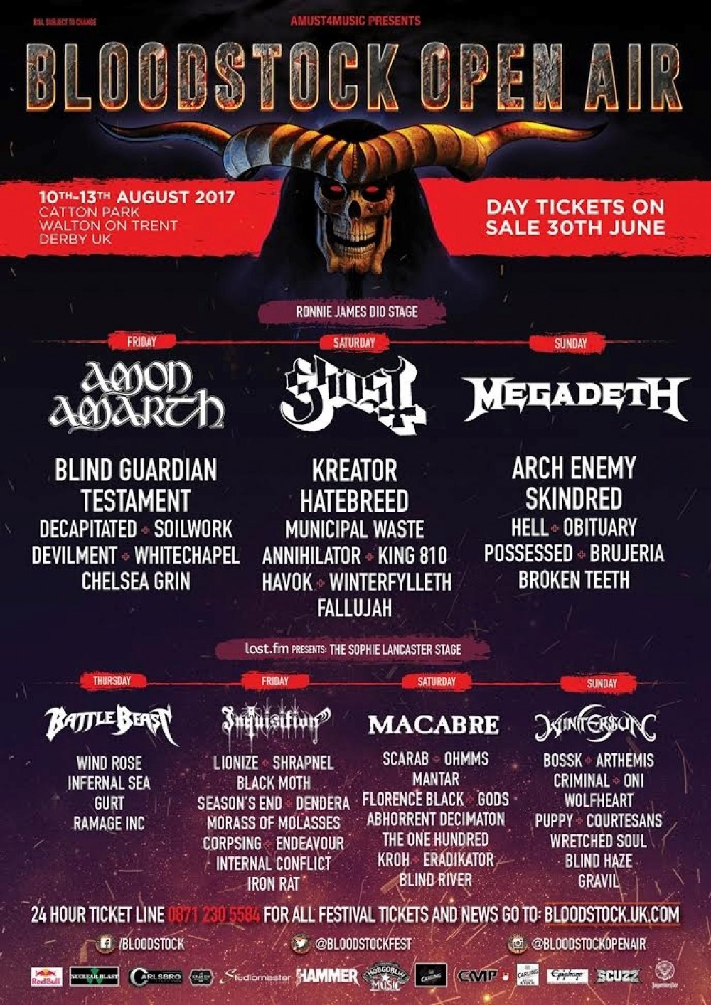 Just 51 days to BLOODSTOCK - 18 more bands added!