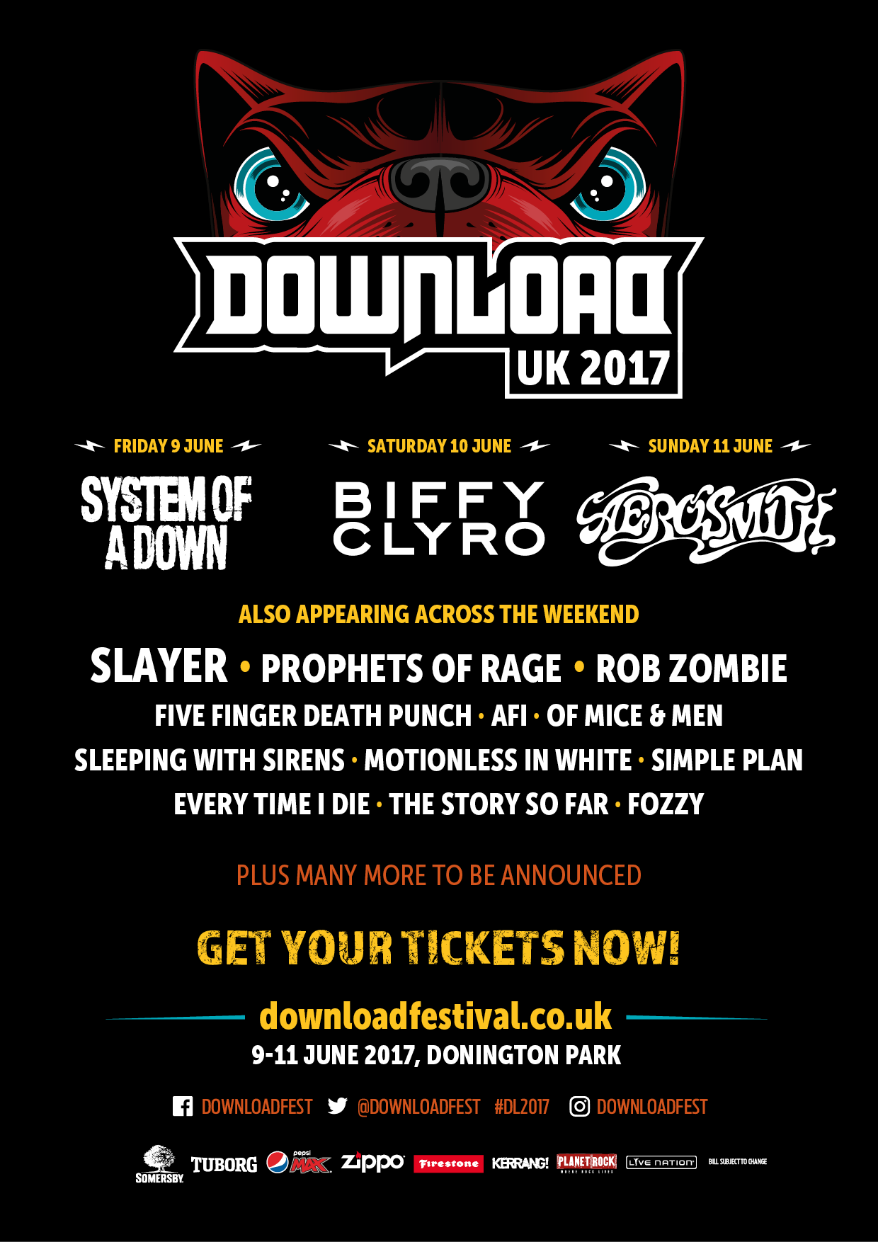 Download 2017 - Headliners Announced